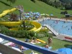 Sonnblickbad, Rauris outdoor summer lido