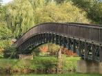 MILLENIUM BRIDGE, CONNECTING ALL THREE PARKS
