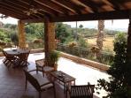 Veranda casa vacanze 'La Rosa Rossa'