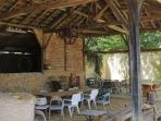 old barn on our domaine Mounoy