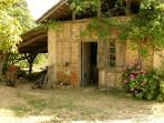 old backeryhouse on our domaine Mounoy