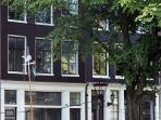 Streetview on the Prinsengracht apartment