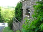 Front of Y Stabl Cottage
