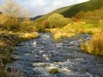 The River Bran in the Cynghordy Valley