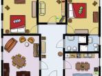 Plan of apartment