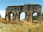 Historic sites at Patara beach, 20 minutes drive from Kalkan