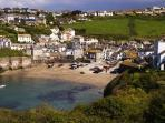 Port Isaac Harbour, 'Port Wenn' in the tv series Doc Martin.