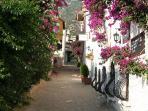 Typical Kalkan street