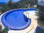 Private pool at Villa Phoebe