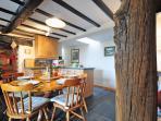 Welsh holiday cottage with log burner - kitchen