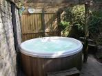 Relax in our inviting hot tub 'Go on you know you want too' Stay...Play...Enjoy..!