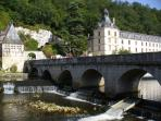Brantome - the Venice of the Perigord