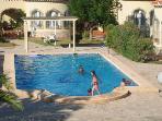 large pool main feature of urbanisation