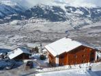 Rhone valley, old Veysonnaz & Sion
