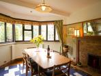 Dining room offers more formal dining