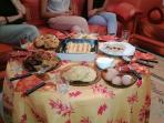 petit dejeuner marocain, morrocan breakfast
