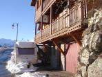 Chalet front