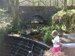 An older bridge still exists under the current one.  It carries an ancient packhorse route