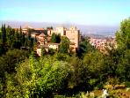 The Alhambra Palace is a must when visiting Granada, spectacular at any time of the year