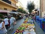 Palafrugell's daily market - 5 km