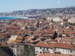 Vieux Nice from the Chateau