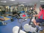 Gym for members only - We supply 2 x membership cards for leisure centre