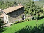 L'Appartamento Azzurro and its entrance, the sleeping quarters for La Casa Padronale...