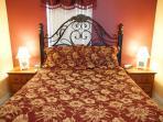 Second bedroom with queen bedding