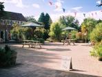 Mazzard Farm courtyard