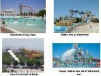Splash around in the biggest water park in Europe, Waterworld, Agia Napa, 20 min by car. Wheeeeeee!