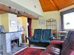 Ekornes Stressless recliners in the Old Round House cottage
