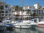 Duquesa Marina is just down the road with many restaurants and shops and an evening craft market