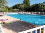 La piscine du Domaine:25m/12,5m,