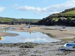 Camel Estuary at low tide