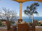 CORNER TWO BEDROOM SEA VIEW APARTMENT WITH A SPACIOUS TERRACE