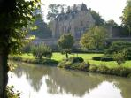 The chateau de Chatillon en Bazois