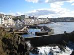 Portstewart Promenade looking from the back of the Harbour.