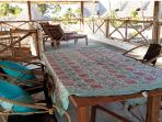 veranda - the real living room of the bungalow