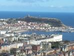 view over scarborough from olivers mount