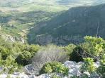 Walking the Cathar way in breathtaking scenery