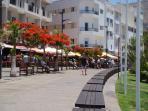 The promenade at Los Cristianos
