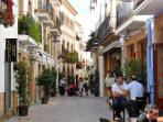 Javea's Old Town Centre