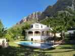 The Villa with the Montgo Mountain in the backhround