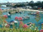 Picturesque Newquay Harbour