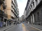 Via Mezzocannone