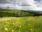Springtime in the hills around Hebden