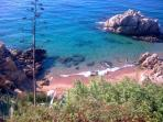 Cute and peaceful small bay very near the villa