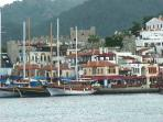 Marmaris Castle and Old Town