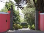 Quinta's main gate