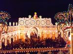Folk Tradition of Luminarie (lights landscapes and decorations)